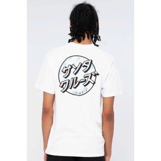 Santa Cruz Off Hando Dot T-Shirt White