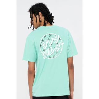 Santa Cruz Off Hando Dot T-Shirt Jade Green