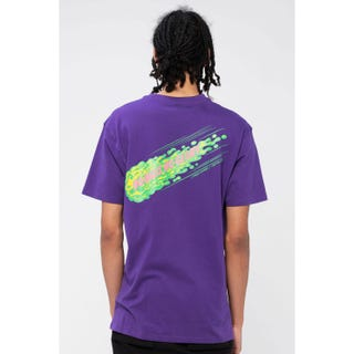 Santa Cruz No Balls No Glory T-Shirt Purple