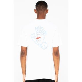 Santa Cruz Void Hand T-Shirt White