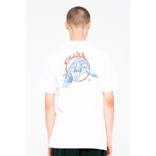 Santa Cruz Salba Tiger Club T-Shirt White