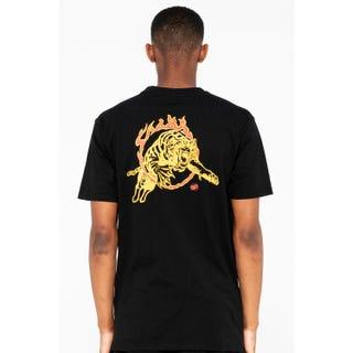 Santa Cruz Salba Tiger Club T-Shirt Black