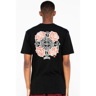 Santa Cruz Dressen Roses Club T-Shirt Black