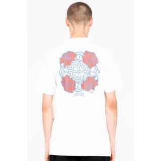 Santa Cruz Dressen Roses Club T-Shirt White