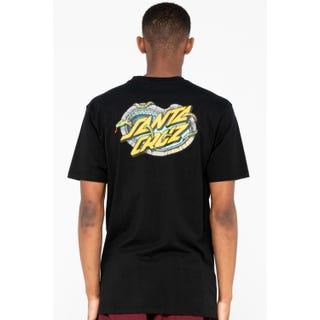 Santa Cruz Pool Snakes T-Shirt Black