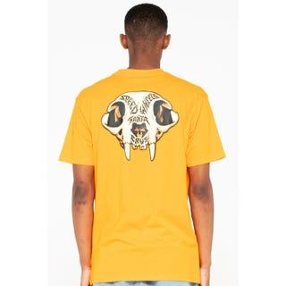 Santa Cruz SW Skull T-Shirt Safety Orange