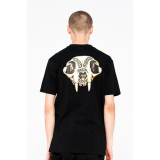 Santa Cruz Speed Wheels Skull T-Shirt Black