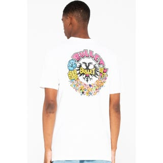 Santa Cruz Bullet Riot T-Shirt White