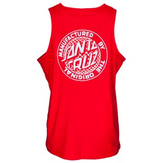 Santa Cruz UK Fisheye MFG Dot Vest Deep Red