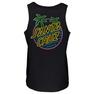 Glow Dot Vest Black by Santa Cruz