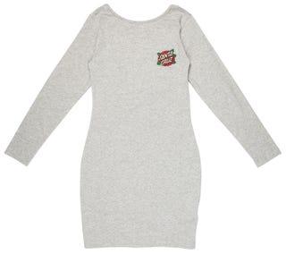 Santa Cruz Clothing for Women - Rose Dot L/S Dress Heather Grey