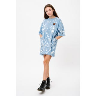 Santa Cruz Kit Dress Blue / White Splatter