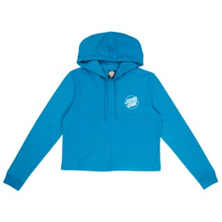 Santa Cruz Women's Court Hooded Sweatshirt Teal