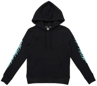 Santa Cruz Flame Dot Women's Hood - Black