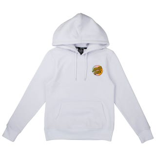 Santa Cruz Japanese Dot Women's Hood - White
