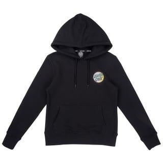 Santa Cruz Japanese Dot Women's Hood - Black