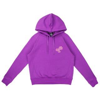 Santa Cruz Stacked OGSC Women's Hood - Violet