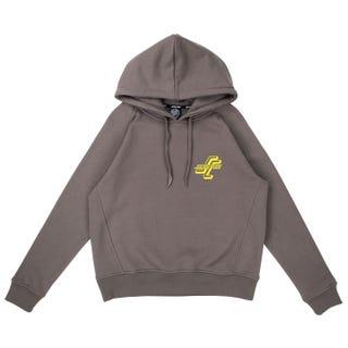 Santa Cruz Stacked OGSC Women's Hood - Charcoal.