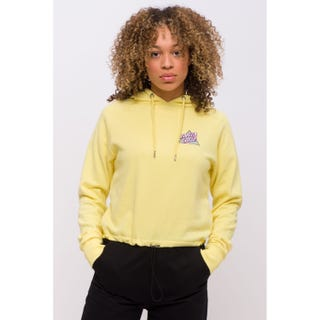 Santa Cruz Not a Dot Hood Pastel Yellow