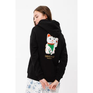 Santa Cruz Lucky Cat Hood Black