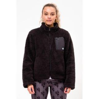 Santa Cruz Clothing Europe - Salem Jacket Black Sherpa