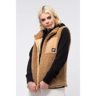 Santa Cruz Clothing UK & Europe. Teddy Vest Tan