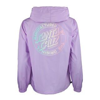 Santa Cruz MFG Dot 1/4 Zip Jacket Lavender