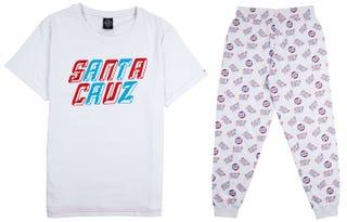 Santa Cruz Dreamin' Pyjama Set - White