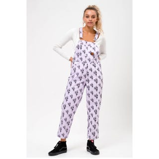 Santa Cruz Clothing UK & EU - Wall Hand Dungarees Lilac / Black
