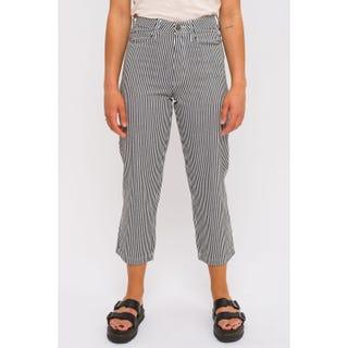 Santa Cruz Francis Trousers in Hickory Stripe