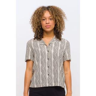 Santa Cruz Women's Vortex Shirt Allover Print