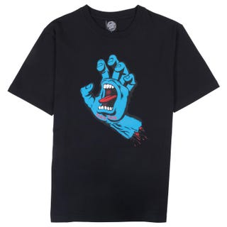 Santa Cruz Screaming Hand Womens T-Shirt Black.