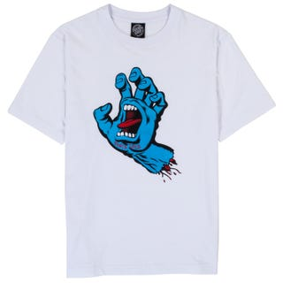 Santa Cruz Screaming Hand Womens T-Shirt White
