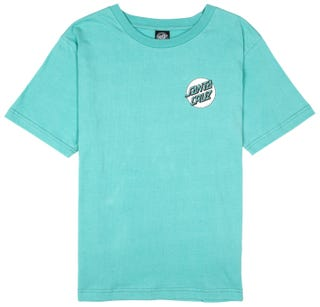 Santa Cruz Missing Dot Ladies' T-Shirt Aqua