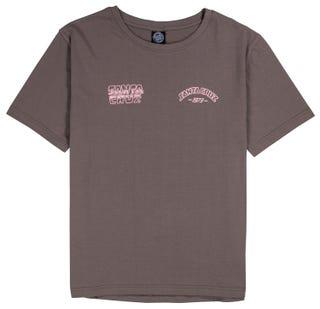 Santa Cruz Mix Up Ladies t-shirt charcoal