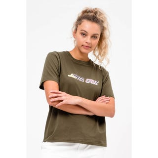 Santa Cruz Clothing UK & EU - Hand Blocker Crew Military Green