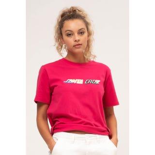 Santa Cruz Hand Blocker T-Shirt Cassis