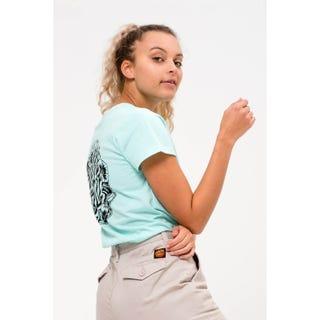 Santa Cruz Cali Poppy T-Shirt Bubblegum Blue