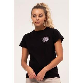 Santa Cruz Cali Poppy T-Shirt Black