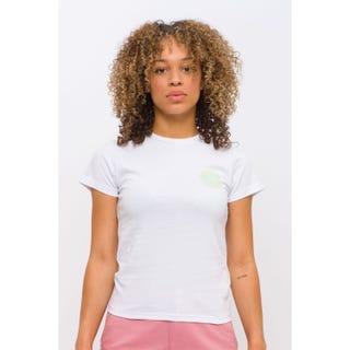 Santa Cruz Coiled Dot T-Shirt White