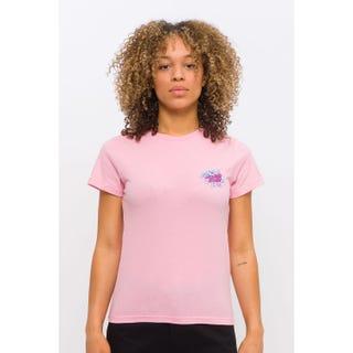 Santa Cruz Crystal Hand T-Shirt Dusty Rose