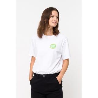 Santa Cruz MFG Dot Women's T-Shirt White