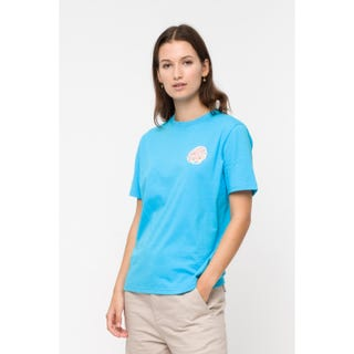 Santa Cruz Tattered Dot T-Shirt	Aqua