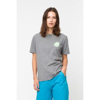 Santa Cruz Tattered Dot T-Shirt	Heather Gray