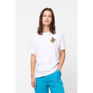 Glowmingo Womens T-Shirt in White | Santa Cruz EU