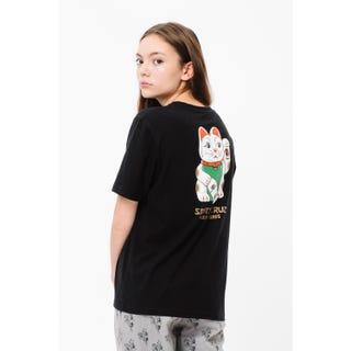 Santa Cruz Lucky Cat T-Shirt Black
