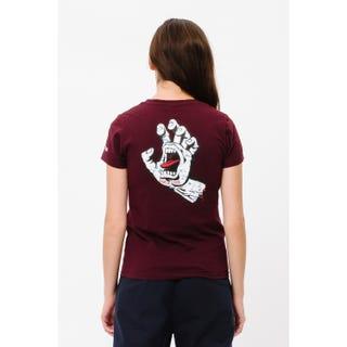 Santa Cruz Speckled Hand T-Shirt in port