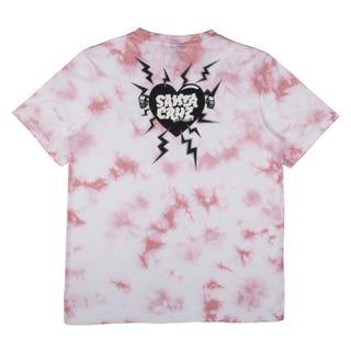 Santa Cruz Electro Heart T-Shirt Crystal Grape