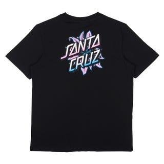Santa Cruz Bloomed T-Shirt Black