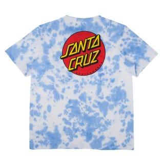 Santa Cruz Classic Dot T-Shirt Crystal Blue